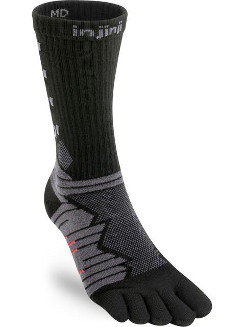Injinji Ultra Run Crew Socks Herren obsidian